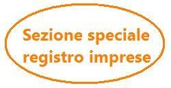 sezione speciale registro imprese