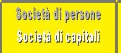 societ� di persone e di capitali