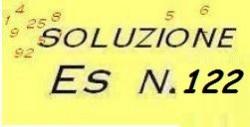 soluzione esercizio di ragioneria n.122