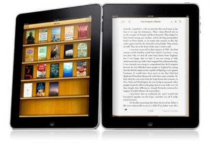 L'iPad utilizzato come eReader.