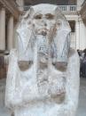 Raffigurazione del faraone Djoser a Il Cairo
