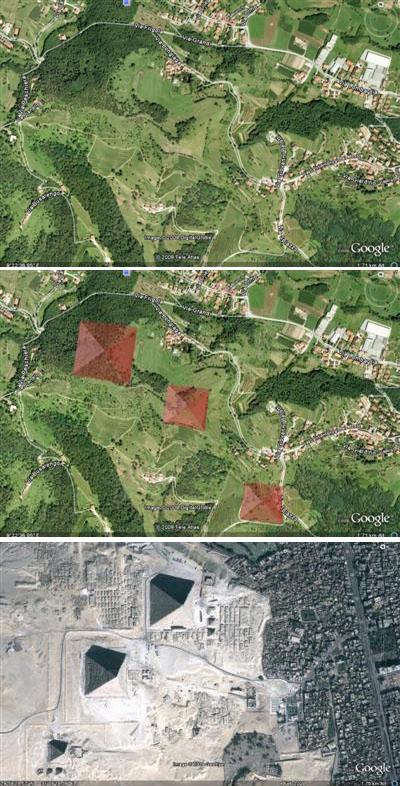 Le tre piramidi nascoste in Lombardia