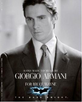 Veste The Dark Armani Knight Giorgio Batman 76yvYbfg