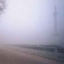 Piazza Aiostea a Ferrara citt� della nebbia