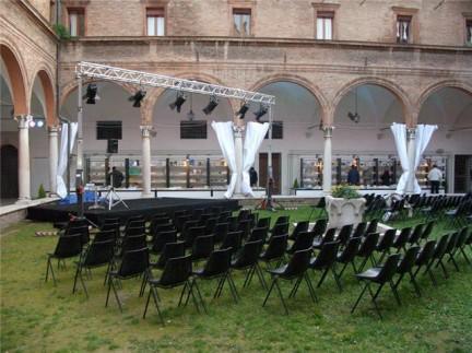 chiostro di San Paolo Ferraraphoto sul festival