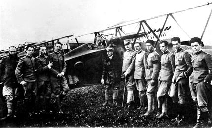 photo sul volo e l'aereoplano del primo novecento