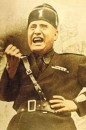 Benito Mussolini photo su personaggi e libri storici sulla Resistenza