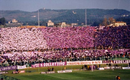 Tifo Viola, anno 90-91