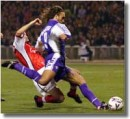 Il grandioso gol all'Arsenal