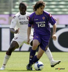 Stevan Jovetic in Fiorentina-Torino