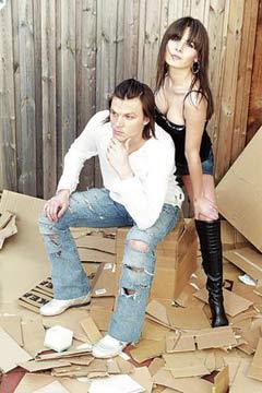 Immagini di Tomas Ujfalusi, e della moglie Katerina