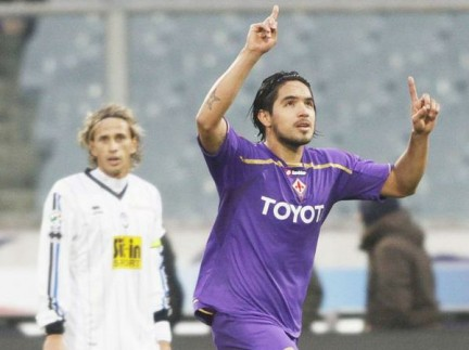 Vargas Gol Fiorentina