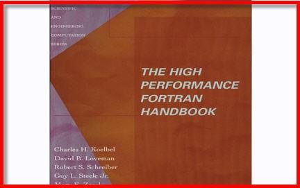 intel fortran compiler,format fortran,manuale fortran,libro fortran , High performance Fortran