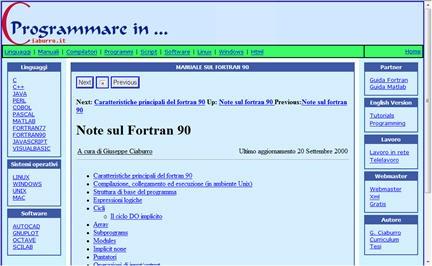 Manuale Fortran 90