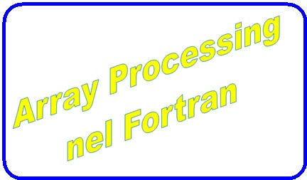 fortran 90,intel fortran,visual fortran,compilatore fortran,array fortran