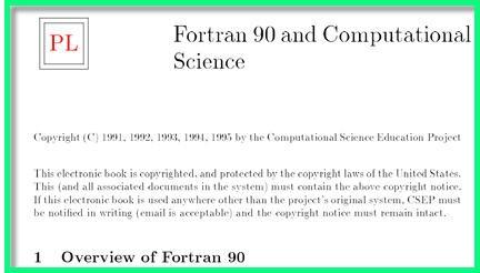 compilatore fortran, fortran 90, intel fortran, visual fortran