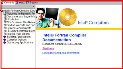 Intel Fortran Compiler Documentation