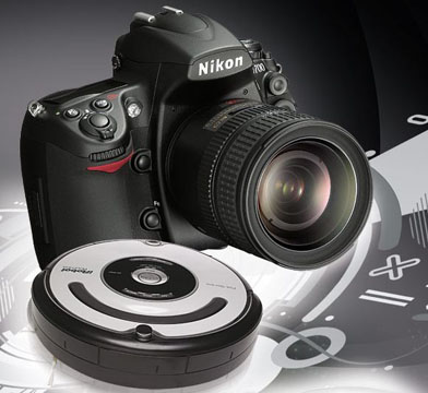 Nikon D700-Robot_Roomba