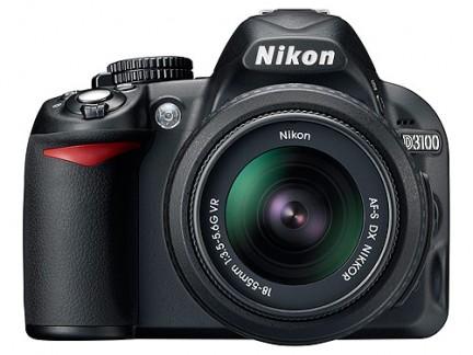 La nuova Nikon D3100 in uscita a settembre 2010, facile d'uso ma piena di gadget