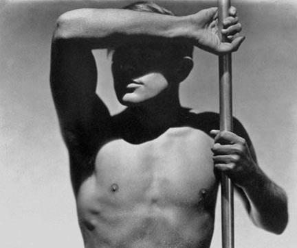 George Hoyningen-Huene_Horst Torso with Pole, 1930