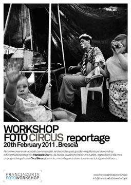 Workshop di reportage condotto da Francesco Cito