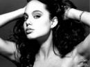 Angelina Jolie 15enne. Fotografie di Harry Langdon