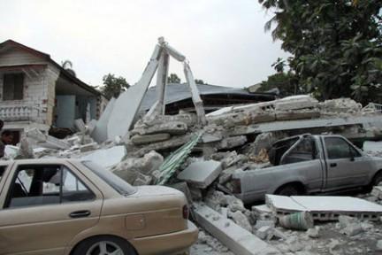 Port-au-Prince, in Haiti - Agenzia Contrasto