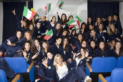 Le 50 finaliste di Miss Italia nel Mondo hanno seguito Italia - Nuova Zelanda