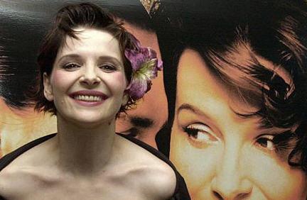 La bellissima Juliette Binoche