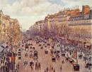 Parigi e quartiere di Montmartre