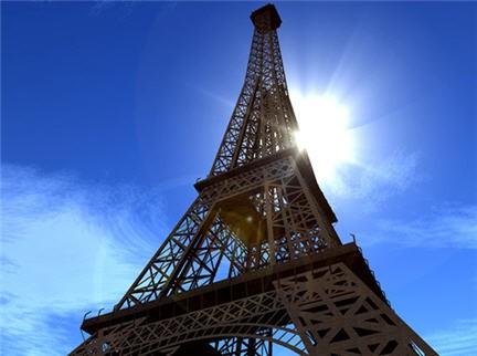 il ferro della torre eiffel, manutenzione torre eiffel, monumenti parigi, torre eiffel