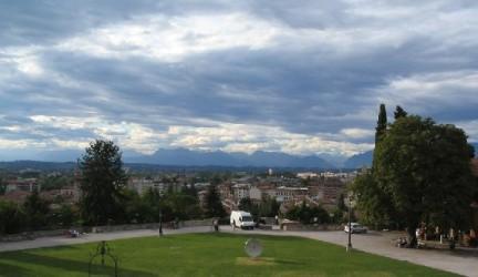 Veduta dal castello di Udine