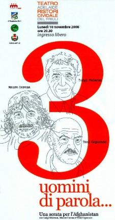 Tre uomini di parola