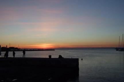 trieste tramonto umberto saba