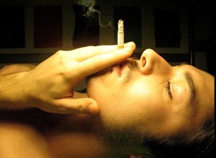 La fotografia come cambiamenti la persona che ha smesso di fumare prima di e poi