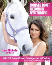 Lea Michele PETA