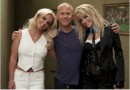 Britney Spears sul set di Glee