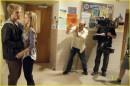 Dianna Agron e Alex Pettyfer: backstage I am Number Four