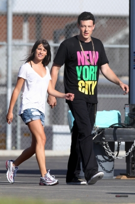 Glee: foto dal set (seconda stagione)