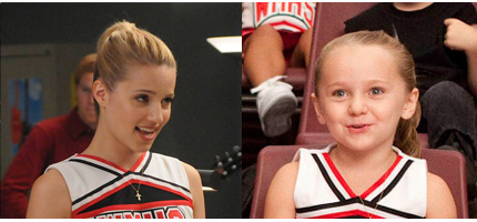 I protagonisti di Glee bambini