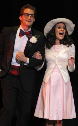 Lea Michele e Matthew Morrison - The Rocky Horror Picture Show