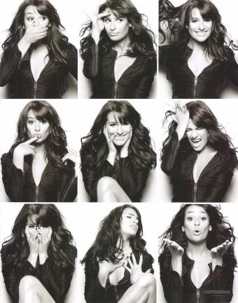 Lea Michele - Marie Claire UK