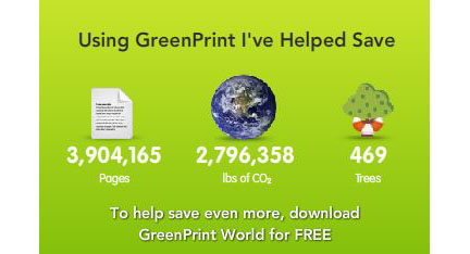 GreenPrint, risparmiare carta e inchiostro