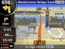 Schermate del navigatore GPS iGO8