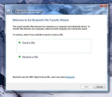 Gestione Bluetooth in Windows 7