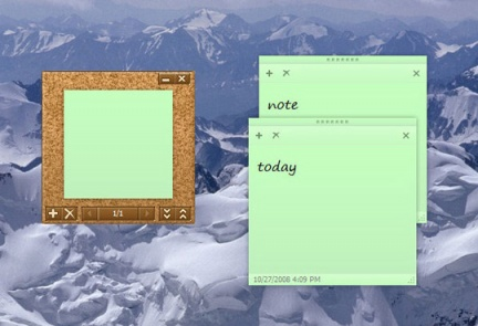Sticky Notes in Windows 7