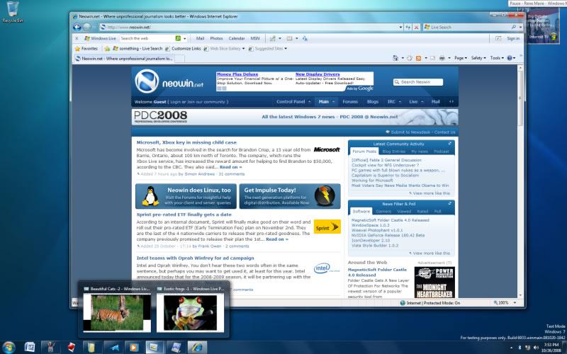 Desktop di Windows 7