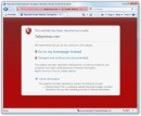 Avviso di sicurezza in Internet Explorer 8