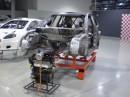 Scocca e motore della GPA S2000