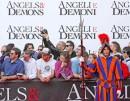 Angeli e Demoni, la Prima mondiale a Roma